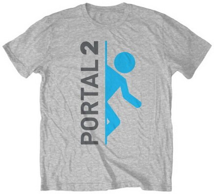 Portal 2 Vert Logo T-Shirt Video Game