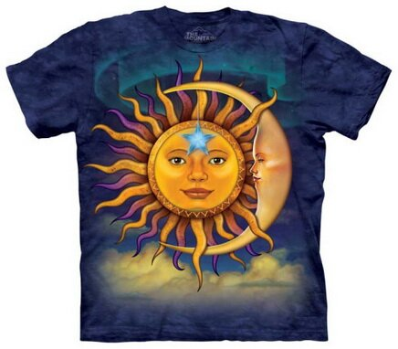 Sun and Moon T-Shirt Art