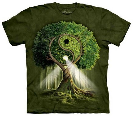 Yin Yang Tree T-Shirt World Culture