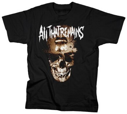 All That Remains Nuclear Holocaust T-Shirt Music