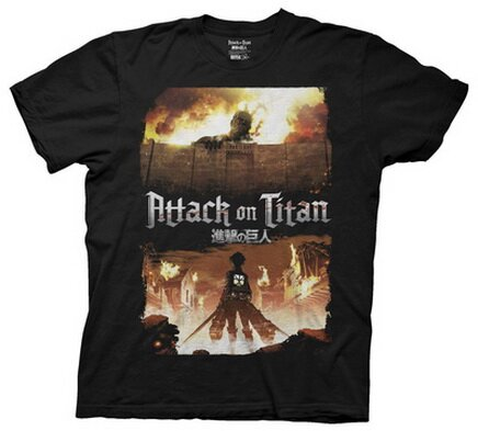 Attack On Titan - Keyart T-Shirt Anime