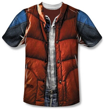 Back to the Future - Mcfly Vest T-Shirt Movie