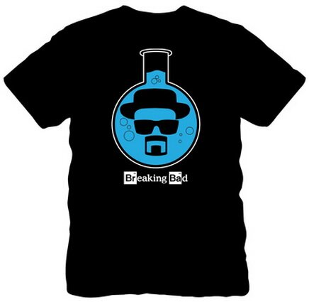 Breaking Bad Blue Heisenberg T-Shirts TV