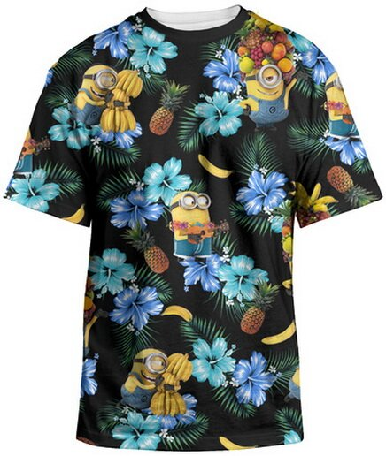 Despicable Me 2 - Minion Tropical T-Shirts Movie