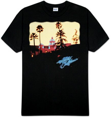 Eagles Hotel California TShirt Music