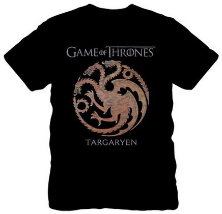 Game of Thrones Targaryen Sigil T-Shirt TV