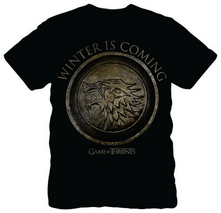 Game of Thrones Winter is Coming Circle TShirts TV