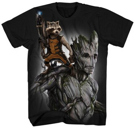 Guardians of the Galaxy - Fully Loaded T-Shirt Movie