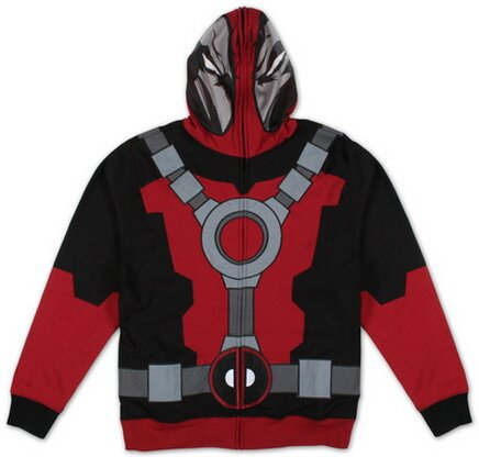 Marvel - Mr Pool Zip Hoodie TShirt Comics