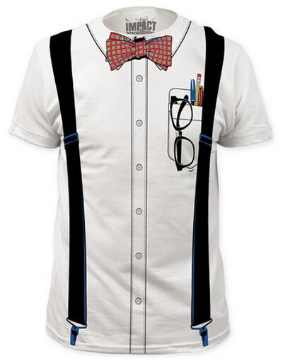 Nerd Costume Tee Slim Fit T-Shirt Funny