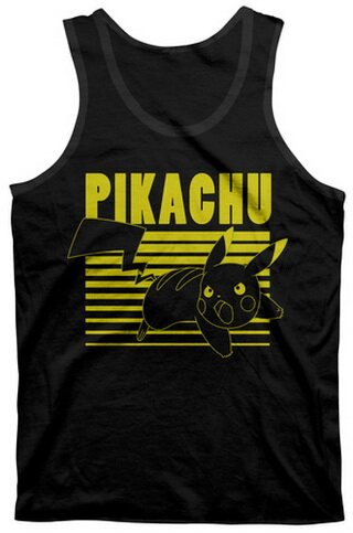 Pokemon - Pika Ready Tank Top T-Shirt Anime