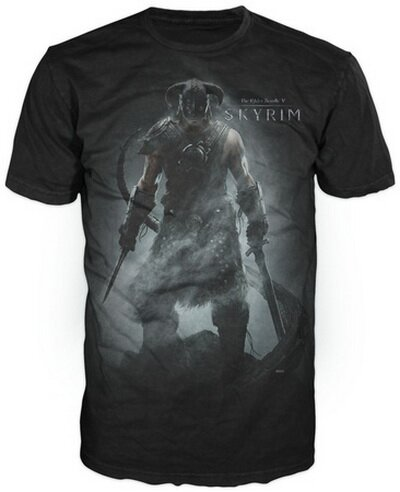 Skyrim Character T-Shirt Video Game