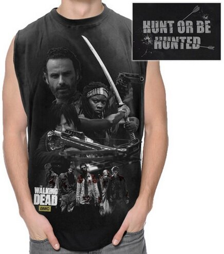 Walking Dead Hunting Group Sleeveless T-Shirt TV