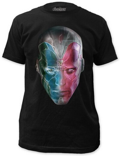 Avengers Age of Ultron - Vision Close-up T-Shirt Movie