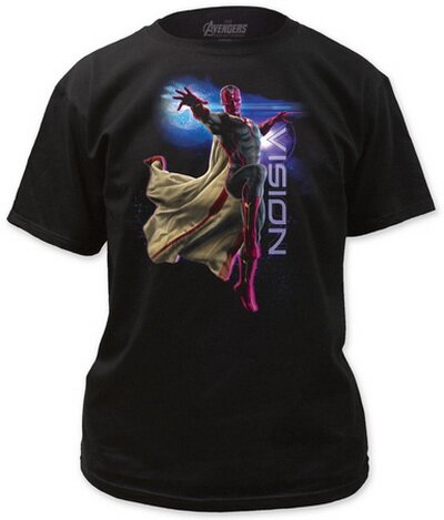 Avengers Age of Ultron - Vision Energy Beam T-Shirt Movie