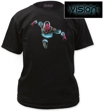 Avengers Age of Ultron - Vision Intangibility T-Shirt Movie