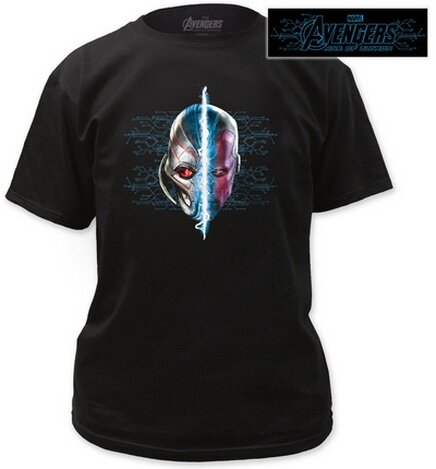 Avengers Age of Ultron - Ultron/Vision T-Shirts Movies
