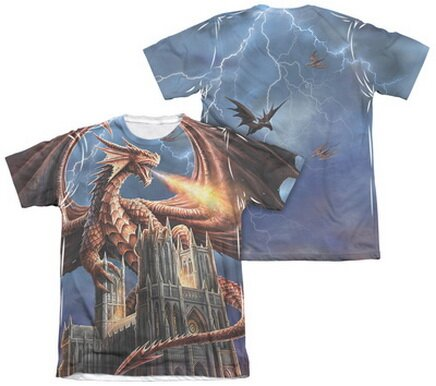 Dragon's Fury T-Shirt Fantasy