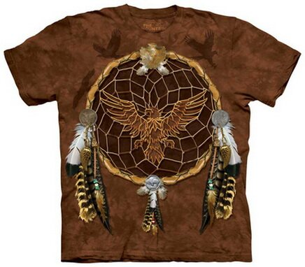 Dreams Of The Eagle T-Shirt World Culture