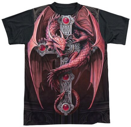 Gothic Guardian T-Shirt Fantasy