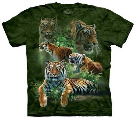 Jungle Tigers T-Shirt Nature and Animals