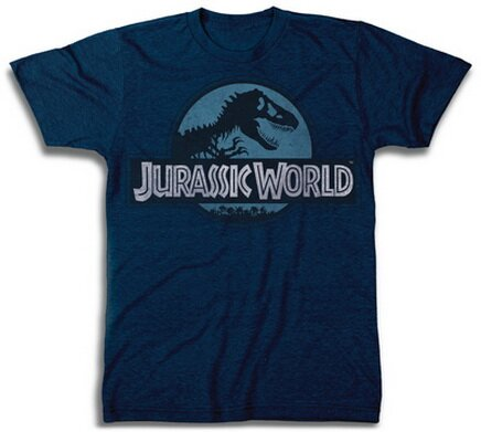 Jurassic World Logo T-Shirt Movies