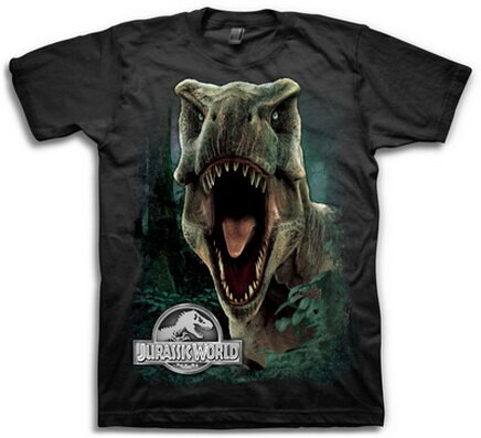 Jurassic World T-Rex T-Shirt Movie