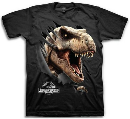 Jurassic World Tear Through T-Shirts Movie