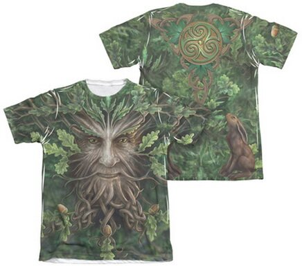 Oak King T-Shirt Fantasy