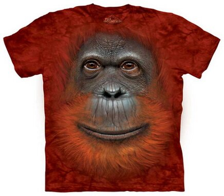Orangutan Face T-Shirt Nature and Animals