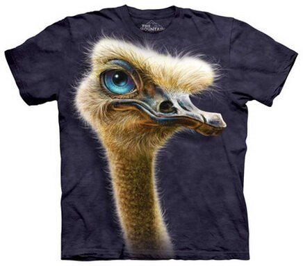 Ostrich T-Shirt Nature and Animals, Funny Tshirts