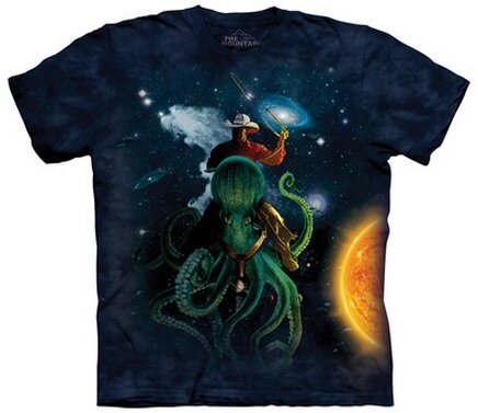 Space Wrangler T-Shirts Fantasy