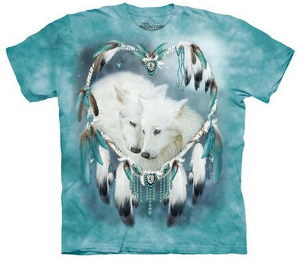 Wolf Heart T-Shirt World Culture and animals